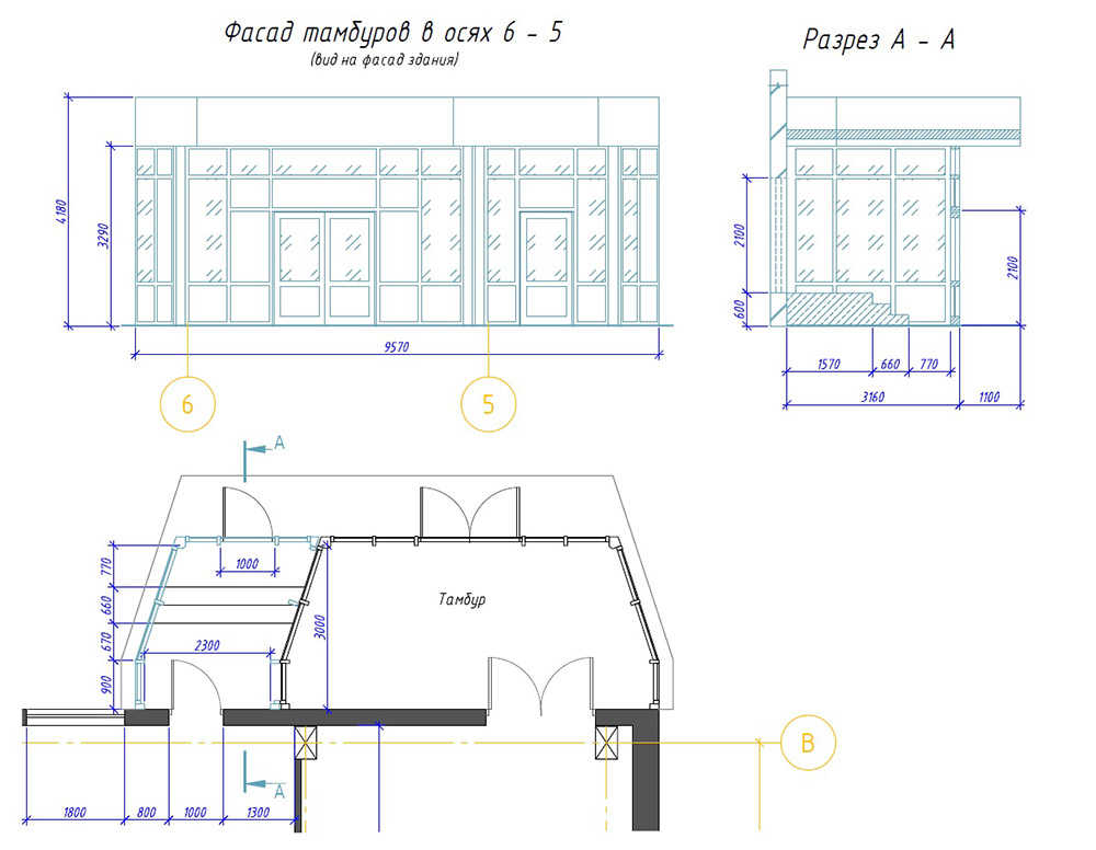 drawing vestibule