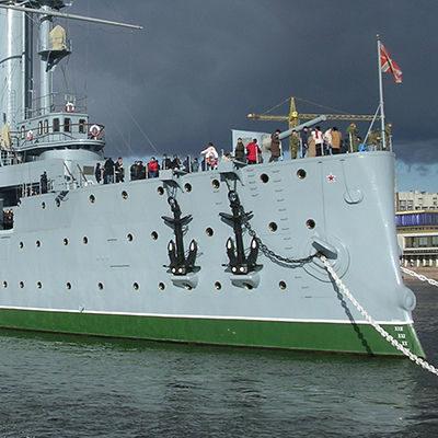 Якорь крейсера Аврора