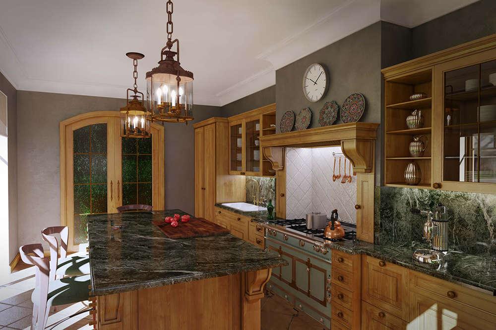 кухня светлый клен 4