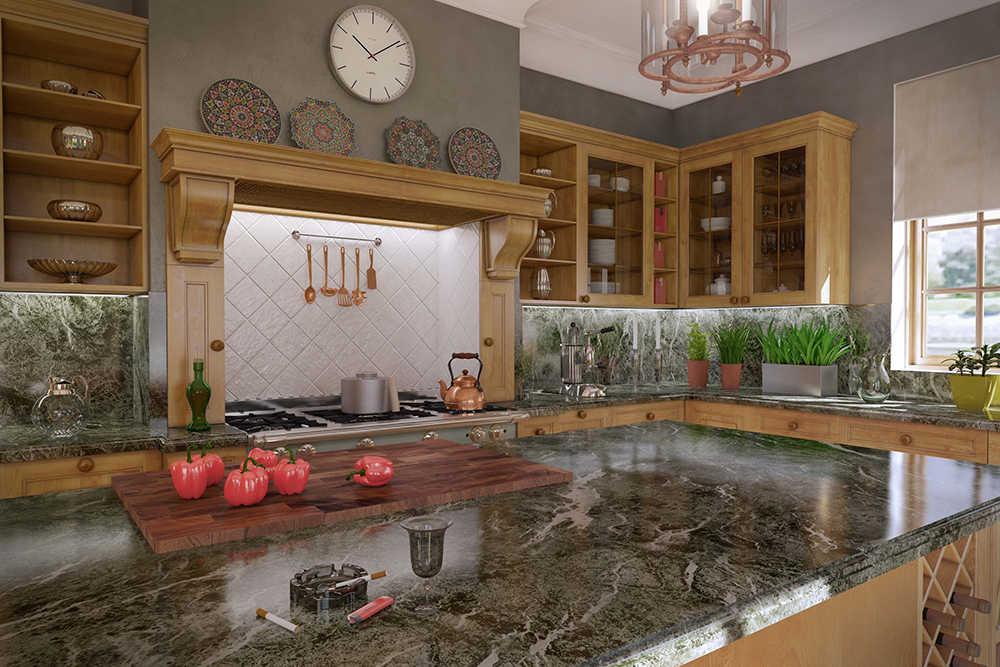 кухня светлый клен 5